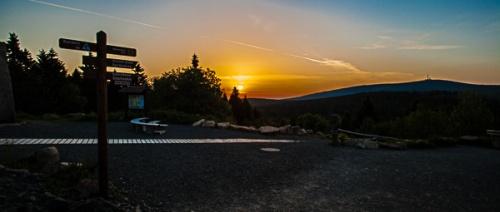 Sonnenaufgang in Torfhaus Harz